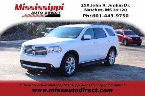 2013 Dodge Durango for sale at Auto Group South - Mississippi Auto Direct in Natchez MS