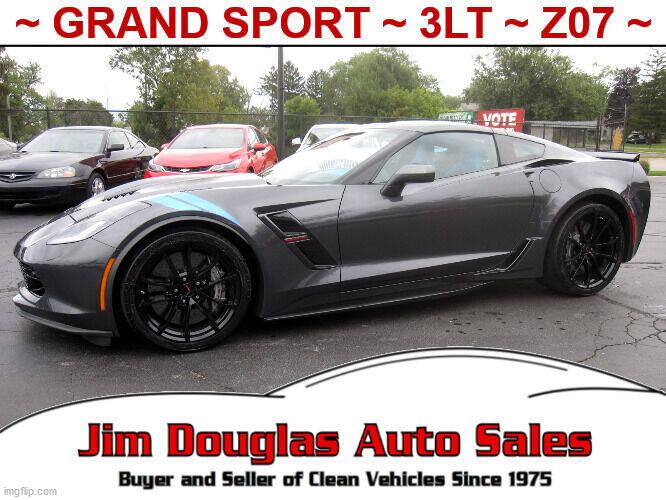 2017 Chevrolet Corvette for sale at Jim Douglas Auto Sales in Pontiac MI