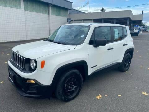 2017 Jeep Renegade for sale at TacomaAutoLoans.com in Tacoma WA