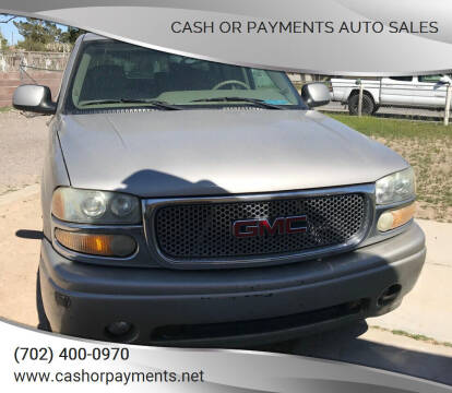 2005 GMC Yukon XL for sale at CASH OR PAYMENTS AUTO SALES in Las Vegas NV