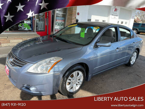2012 Nissan Altima for sale at Liberty Auto Sales in Elgin IL