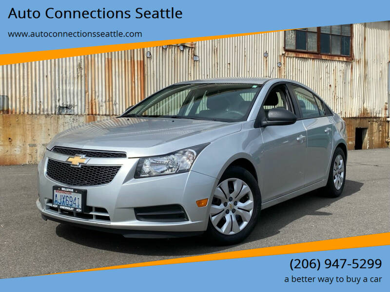 2013 Chevrolet Cruze for sale at Auto Connections Seattle in Seattle WA