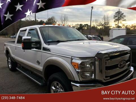 2012 Ford F-250 Super Duty for sale at Bay City Auto's in Mobile AL