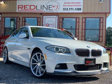 2011 BMW 5 Series for sale at REDLINE AUTO SALES LLC in Cedar Creek TX
