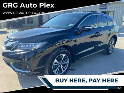 2016 Acura RDX for sale at GRG Auto Plex in Houston TX