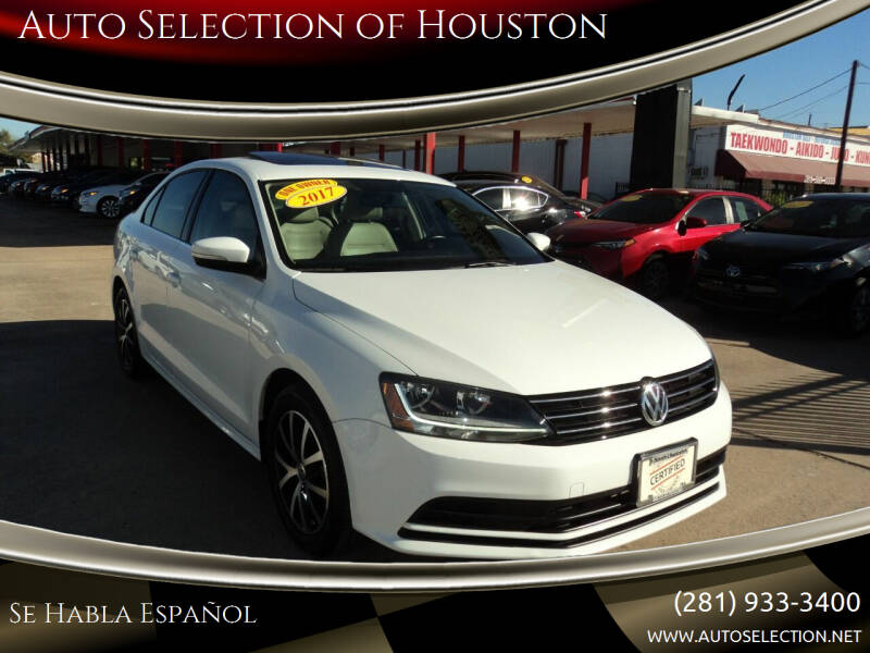 2017 Volkswagen Jetta for sale at Auto Selection of Houston in Houston TX