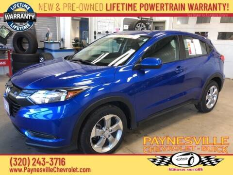 2018 Honda HR-V for sale at Paynesville Chevrolet - Buick in Paynesville MN