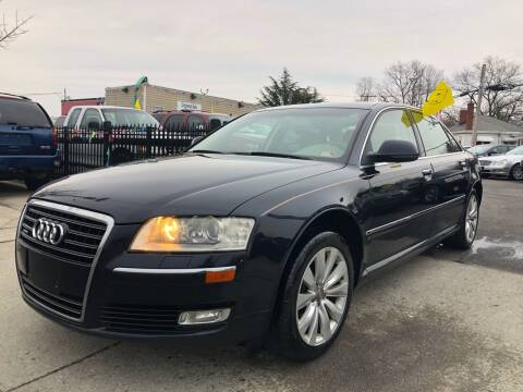 2008 Audi A8 L for sale at Crestwood Auto Center in Richmond VA