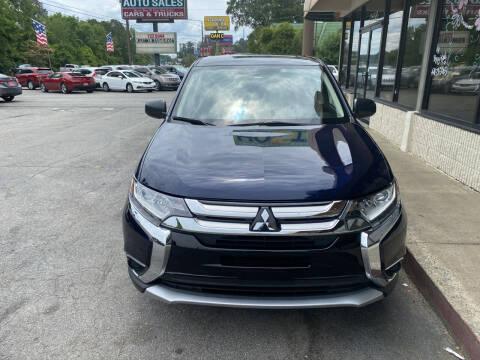 2018 Mitsubishi Outlander for sale at J Franklin Auto Sales in Macon GA