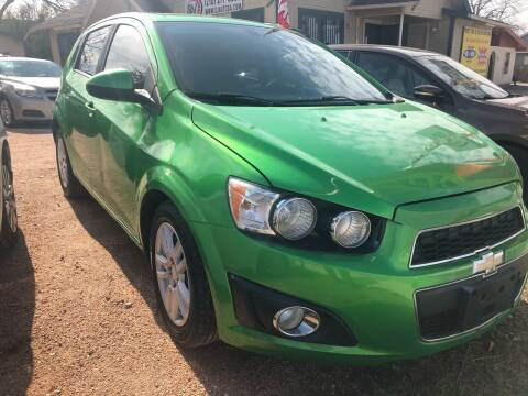 2014 Chevrolet Sonic for sale at S & J Auto Group in San Antonio TX