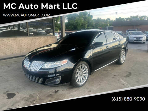 2011 Lincoln MKS for sale at MC Auto Mart LLC in Hermitage TN