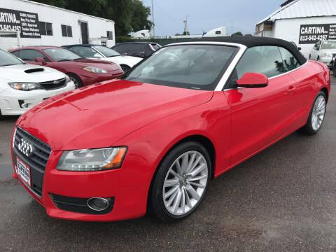 2012 Audi A5 for sale at Cartina in Tampa FL