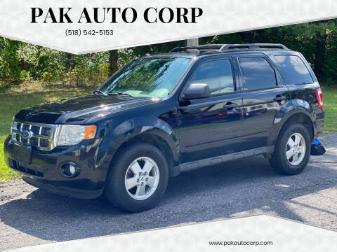 2010 Ford Escape for sale at Pak Auto Corp in Schenectady NY