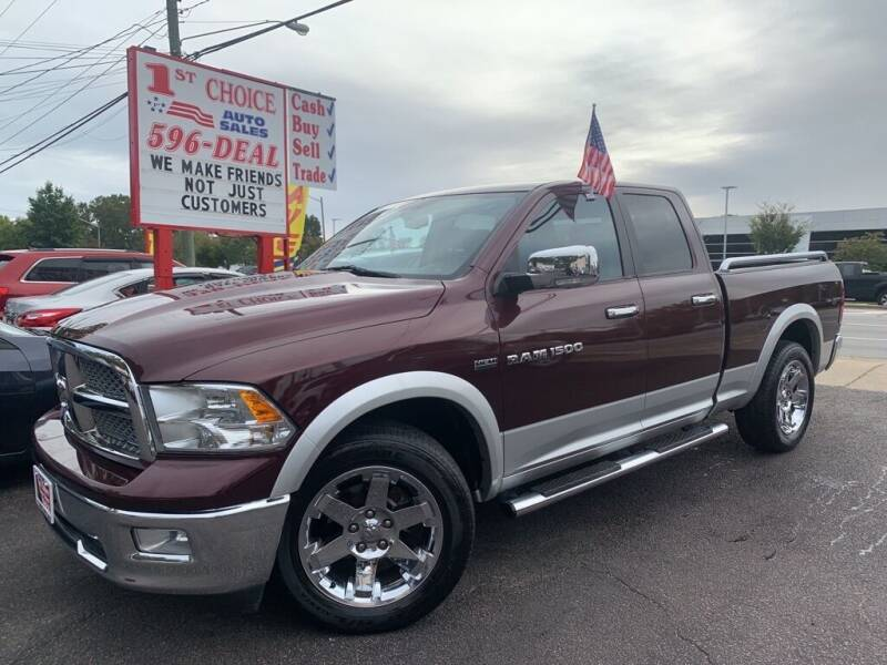 2012 RAM Ram Pickup 1500 for sale at 1st Choice Auto Sales in Newport News VA
