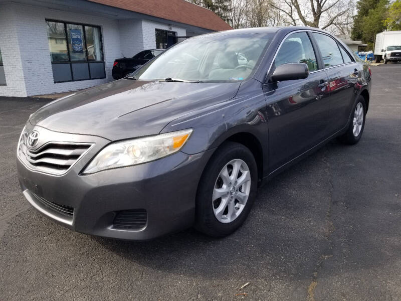 2010 Toyota Camry for sale at Cedar Auto Group LLC in Akron OH