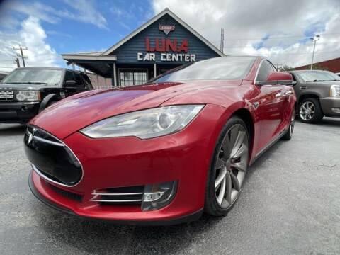 2015 Tesla Model S for sale at LUNA CAR CENTER in San Antonio TX