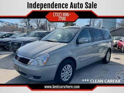 2012 Kia Sedona for sale at Independence Auto Sale in Bordentown NJ