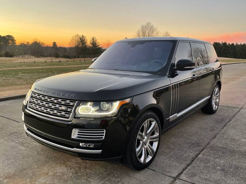 2016 Land Rover Range Rover for sale at Legacy Motor Sales in Norcross GA