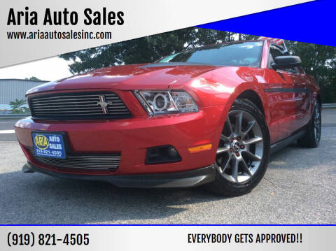 2012 Ford Mustang for sale at ARIA  AUTO  SALES in Raleigh NC