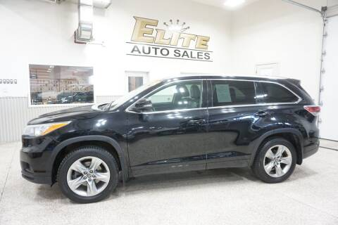 2016 Toyota Highlander for sale at Elite Auto Sales in Ammon ID