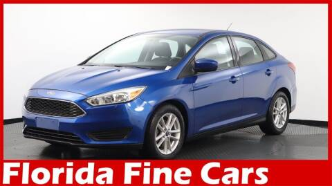2018 Ford Focus for sale at Florida Fine Cars - West Palm Beach in West Palm Beach FL