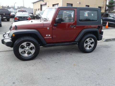 2008 Jeep Wrangler for sale at Nelsons Auto Specialists in New Bedford MA
