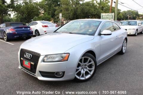 2011 Audi A5 for sale at Virginia Auto Trader, Co. in Arlington VA