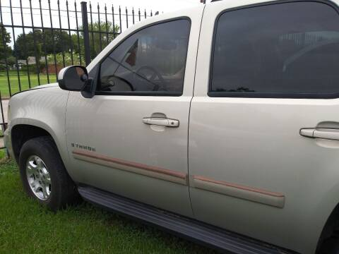 2007 Chevrolet Tahoe for sale at Ody's Autos in Houston TX