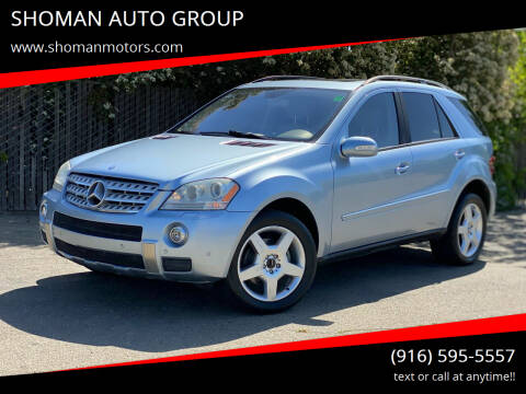 2006 Mercedes-Benz M-Class for sale at SHOMAN AUTO GROUP in Davis CA