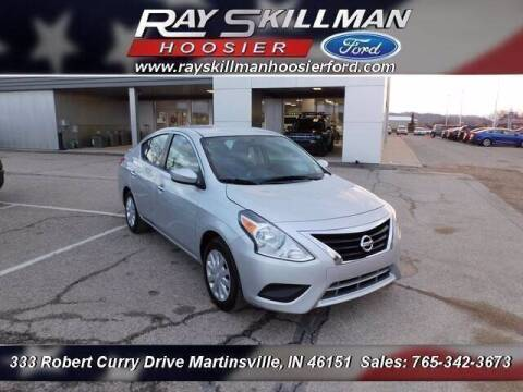 2019 Nissan Versa for sale at Ray Skillman Hoosier Ford in Martinsville IN
