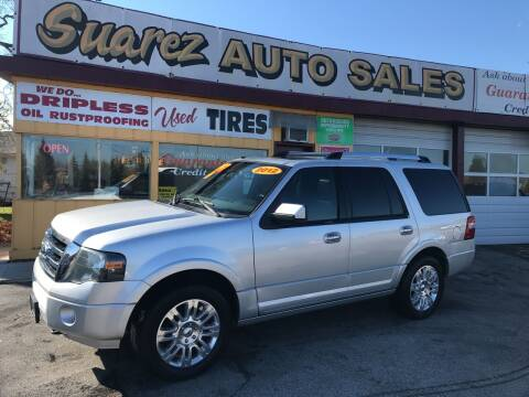2012 Ford Expedition for sale at Suarez Auto Sales in Port Huron MI