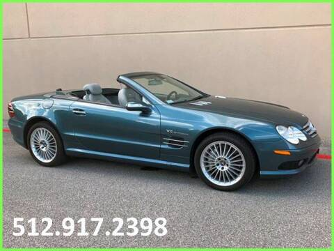 2005 Mercedes-Benz SL-Class for sale at Austin Elite Motors in Austin TX