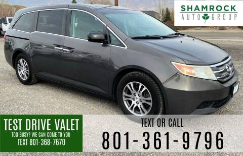 2012 Honda Odyssey for sale at Shamrock Group LLC #1 in Pleasant Grove UT