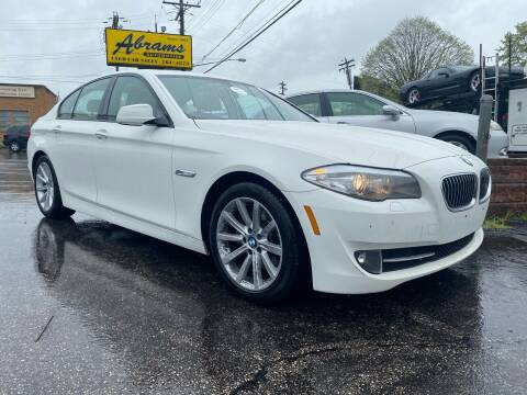 2011 BMW 5 Series for sale at Abrams Automotive Inc in Cincinnati OH