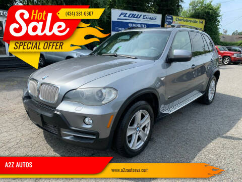 2008 BMW X5 for sale at A2Z AUTOS in Charlottesville VA