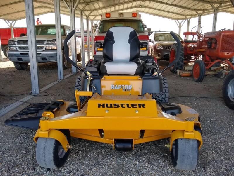 """2019 Hustler Raptor SDX 60"""" for sale at Brad Waller Automotive in Stockton KS"""