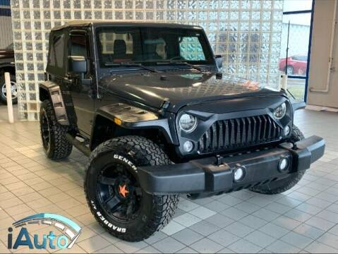 2016 Jeep Wrangler for sale at iAuto in Cincinnati OH