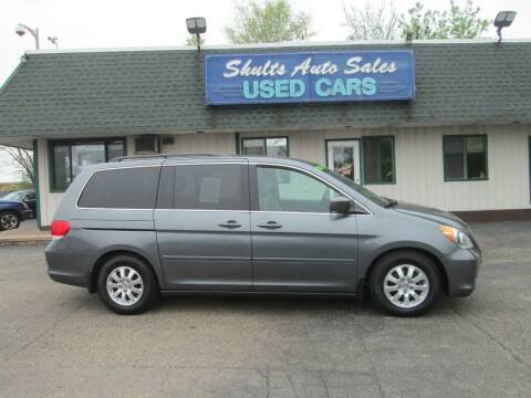 2010 Honda Odyssey for sale at SHULTS AUTO SALES INC. in Crystal Lake IL