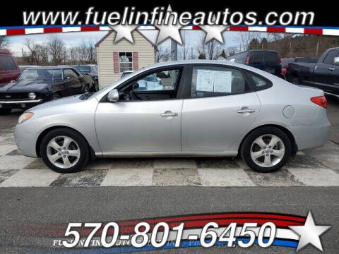 2009 Hyundai Elantra for sale at FUELIN FINE AUTO SALES INC in Saylorsburg PA
