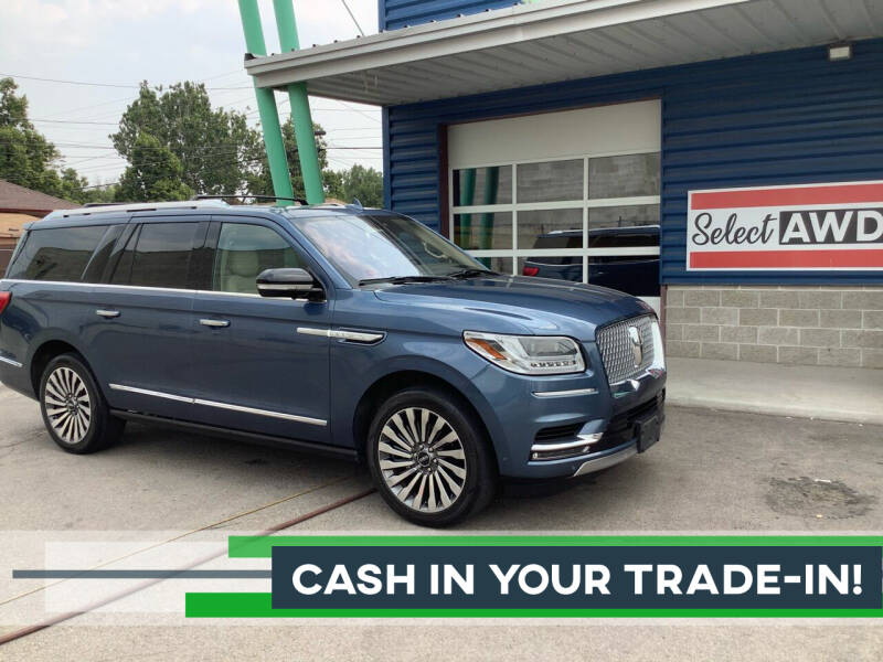 2018 Lincoln Navigator L for sale at Select AWD in Provo UT