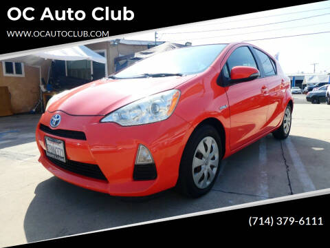 2013 Toyota Prius c for sale at OC Auto Club in Midway City CA