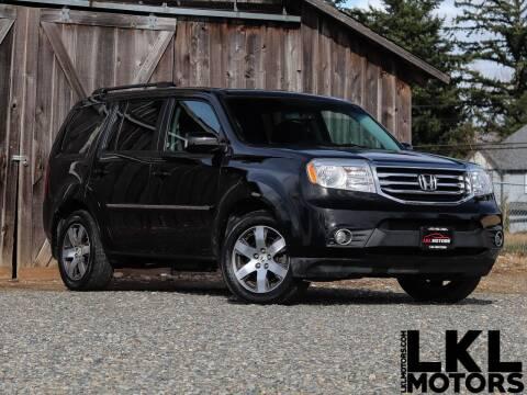 2012 Honda Pilot for sale at LKL Motors in Puyallup WA