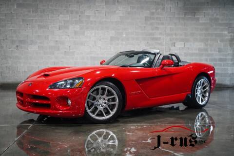 2003 Dodge Viper for sale at J-Rus Inc. in Macomb MI