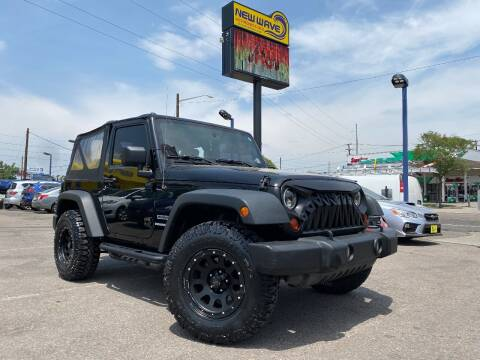 2010 Jeep Wrangler for sale at New Wave Auto Brokers & Sales in Denver CO