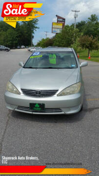 2006 Toyota Camry for sale at Shamrock Auto Brokers, LLC in Belmont NH