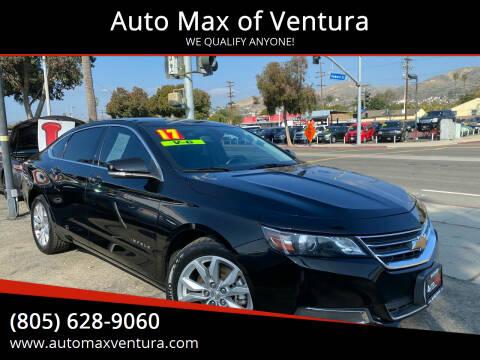 2017 Chevrolet Impala for sale at Auto Max of Ventura in Ventura CA