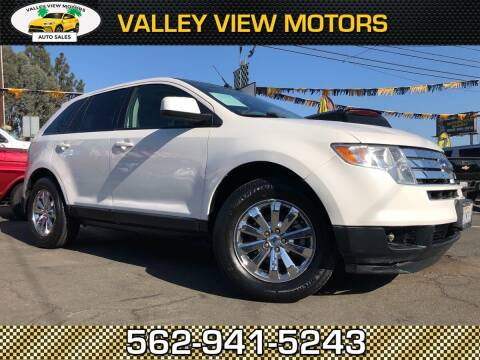 2010 Ford Edge for sale at Valley View Motors in Whittier CA