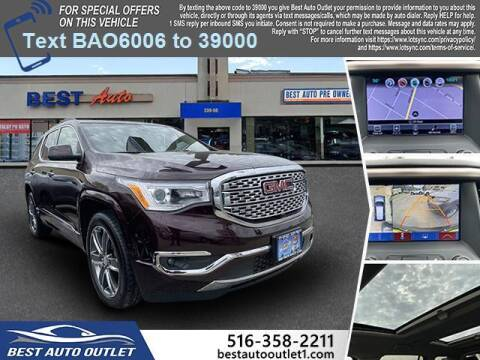 2017 GMC Acadia for sale at Best Auto Outlet in Floral Park NY