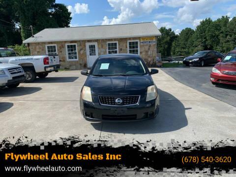 2008 Nissan Sentra for sale at Flywheel Auto Sales Inc in Woodstock GA