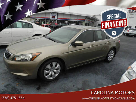 2008 Honda Accord for sale at CAROLINA MOTORS in Thomasville NC
